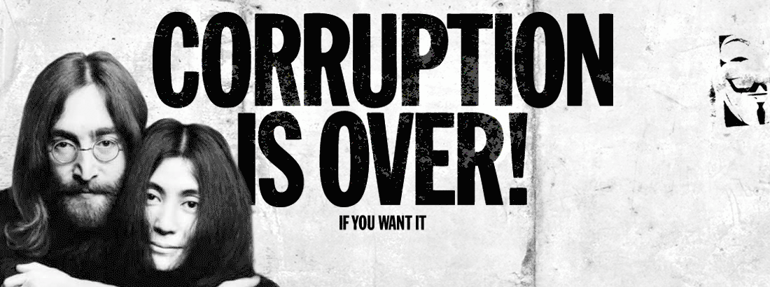 Corruption is over - Imagine responsibility !